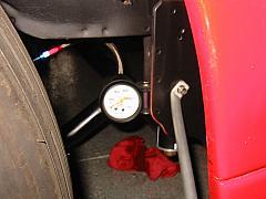 turbo oil pressure gauge